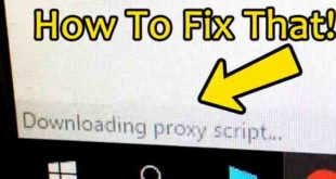 Google Chrome bloccato su Download Script Proxy