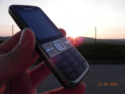 Nokia C5 con OVI Store GPS free software