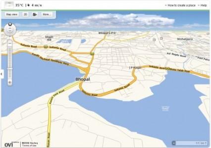 google chrome plugin ovi maps