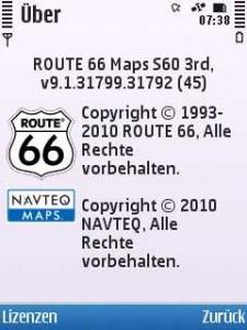 route 66 mappe italia