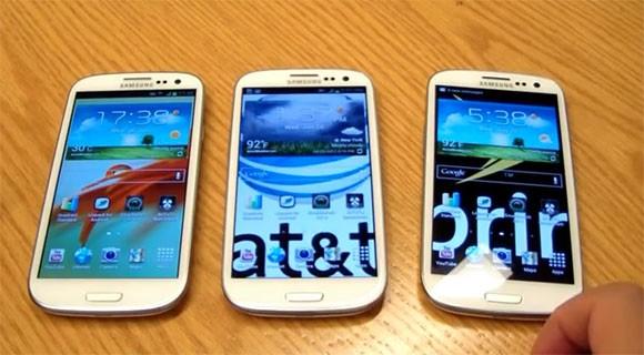 Galaxys3 Dualcore Vs Galaxys3 Quadcore