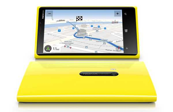 Nokia Lumia con Nokia maps video confronto