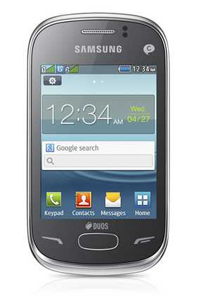 Samsung REX 70 smartphone Android dual sim