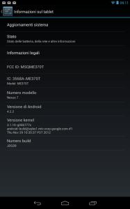 android 422 cone fare lo scereenshot su nexus 7