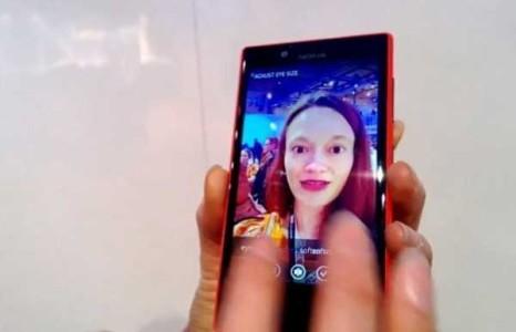 Nokia Lumia 720 video app Glam me in azione