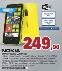 Nokia lumia 620 volantino unieuro