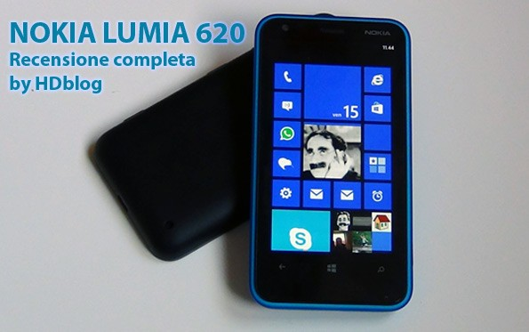 recensione video nokia lumia 620