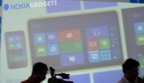 Tab Nokia windows 8 RM