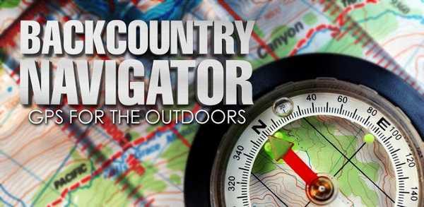 BackCountry Navigator il GPS per gli appassionati di fuoristrada e trekking tutte le mappe, manuale e istruzioni per installarlo sul tablet e smartphone Android
