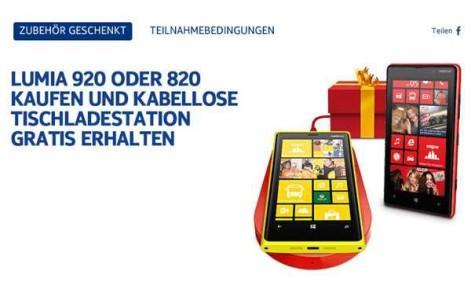 caricabatterie Wireless Nokia Gratis