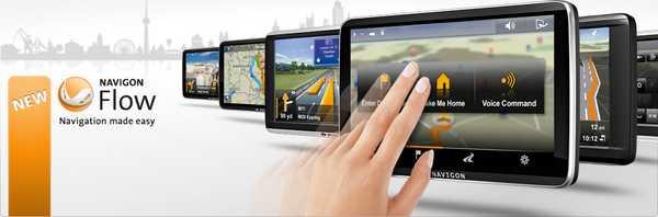 Guida istruzioni manuale applicazione Navigon GPS per navigare con le mappe aggiornate