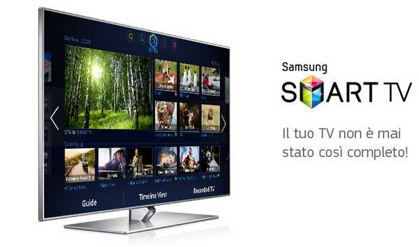 Manuale e istruzioni d'uso samsung Smart TV