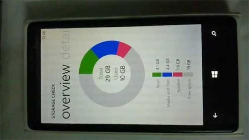 Nokia Storage Check quanta memoria ha il vostro smartphone windows phone 8