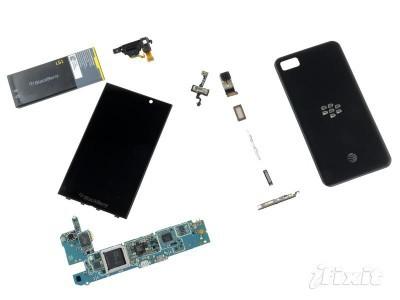 Blackberry guida e istruzioni su come smontare e rimontare lo smartphone