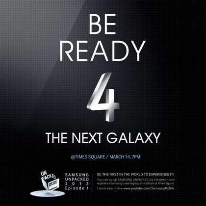 presentazione Samsung Galaxy S4