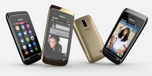 Smontare e rimontare lo smartphone Nokia Asha 308