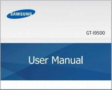 Samsung Galaxy S4 Galaxy SIV GT-I9500 Manuale Pdf Guida e Istruzioni originali