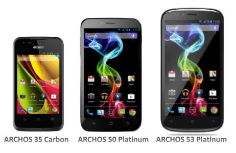 archos smartphone android dual sim economici