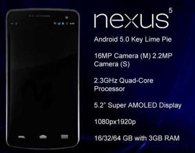 Nexus 5 e Android 5 a maggio per la presentazione