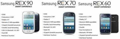 tutti i prezzi della serie REX Samsung