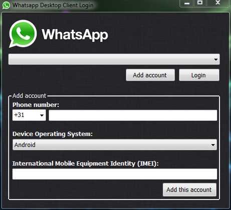 whatsApp per computer desktop il codice sorgente