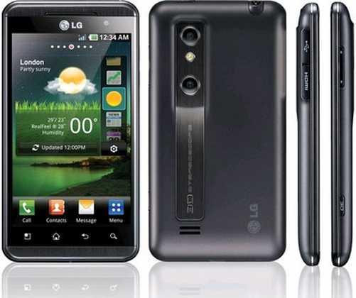 LG Optimus 3D P920 Manuale d'uso e Guida con istruzioni
