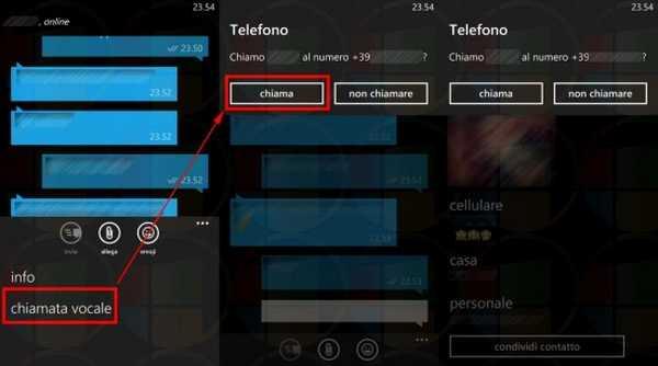 WhatsApp per Nokia Lumia con chiamata vocale