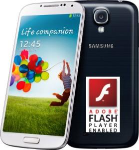 Flash Player su Galaxy S4