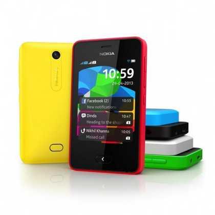 Nokia ascha 501 Asha platform