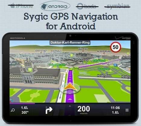 tutte le mappe del mondo per GPS Sygic Navigator