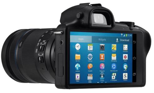Galaxy NX fotocamera reflex digitale samsung
