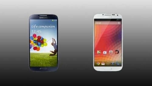 GalaxyS4 google edition