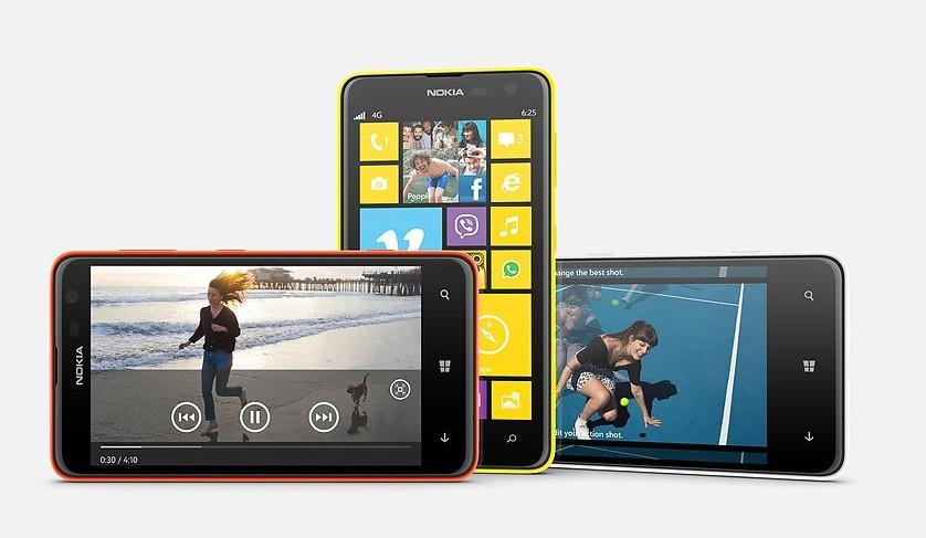Lumia 625 Nokia il nuovo smartphone WP8 con display da 4.7 Pollici
