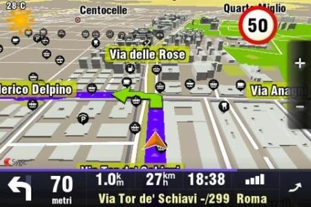 sygic mappa italia