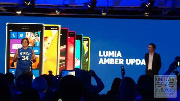 Aggiornamento Ambra Amber su Nokia Lumia 920 in anteprima