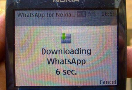 Ultma versione WhatsApp per Nokai S40 serie C, X e Asha