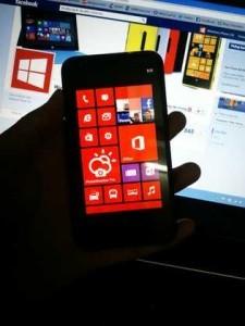 lumia 620 con ambra installato