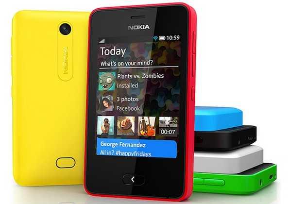 Nokia Asha 501 Dual Sim Manuale di istruzioni italiano
