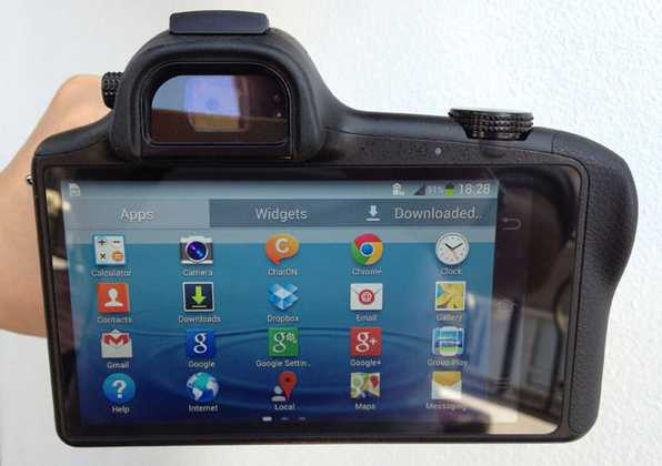 Samsung Galaxy NX EK-GN120 manuale di istruzioni e guida all'uso