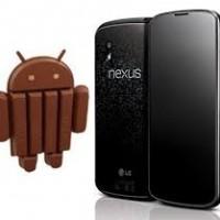 Nexus 4 e nexus 7 con Android 4.4 KitKat in anteprima !