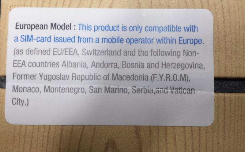 Attenzione ad acquistare Galaxy Note 3 extra europei !!!