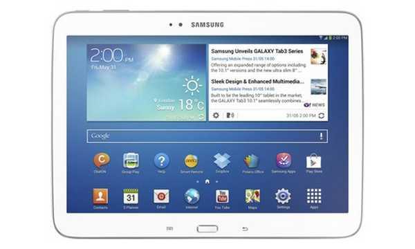 Manuale italiano Galaxy Tab 3 10.1 Wi-Fi GT-P5210 Samsung