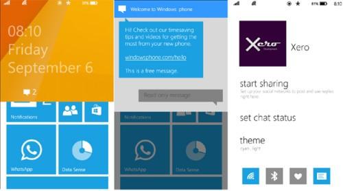 Windows Phone 81 Blue la Demo animata in anteprima