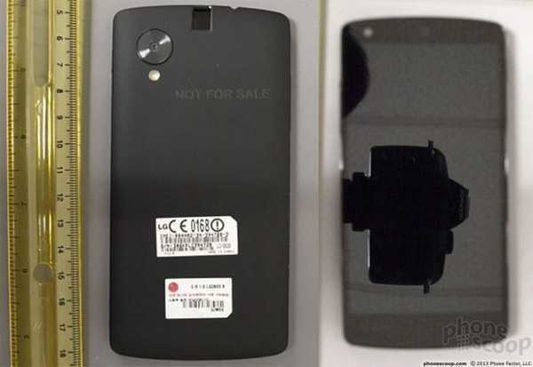 Nexus 5 LG D820 Android 4.4 KitKat le vere foto del nuovo smartphone Google