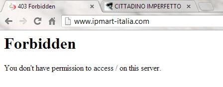 Ipmart-Italia offline ? No ! Ecco come visualizzaro