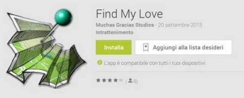 Spiare fidanzata o moglie con Find My Love Apk Android Gratis