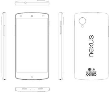 Nexus 5 LG D821 Manuale di Servizio Foto caratteristiche Android 44 in anteprima