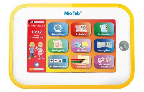 Cosa regalare a Natale 2013 al figlio Un Tablet per bambini Educativo e pieno di Giochi