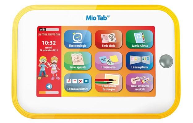Cosa regalare a Natale 2013 al figlio ? Un Tablet per bambini Educativo e pieno di Giochi
