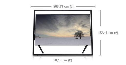 """Manuale Italiano Samsung TV UHD 3D LED 85"""" UE85S9SZ"""